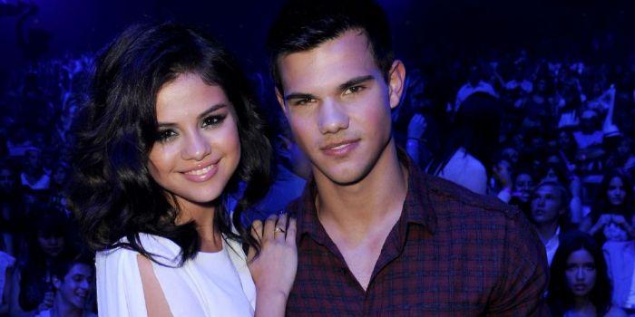 Selena Gomez and Taylor Lautner