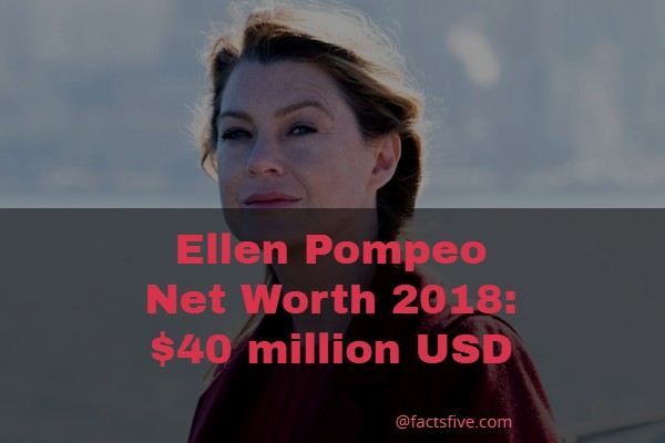Ellen Pompeo Net Worth