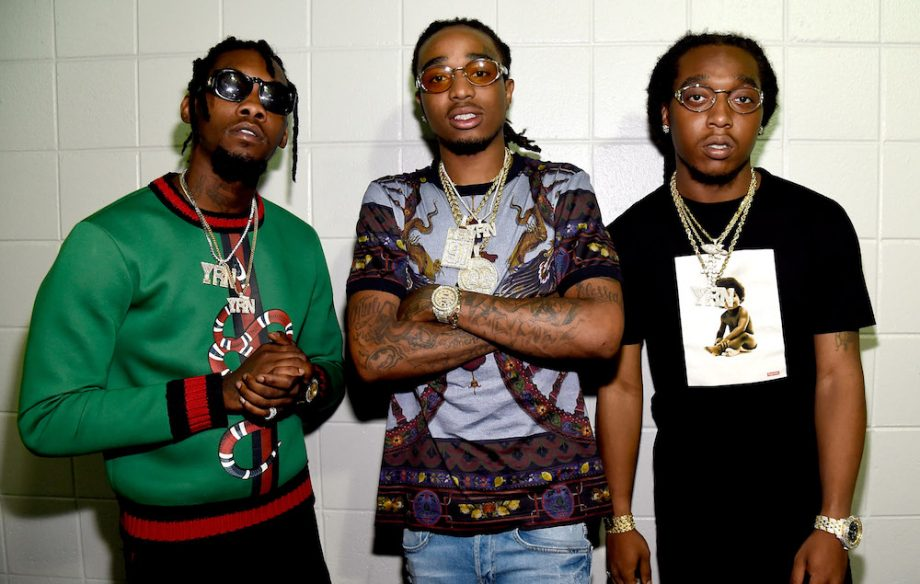 "Quavo with his group ""Migos"""