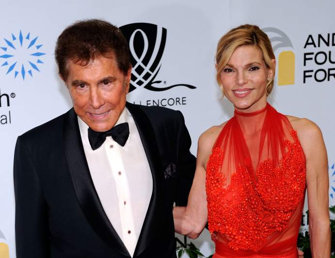 Andrea Hisson and Steve Wynn