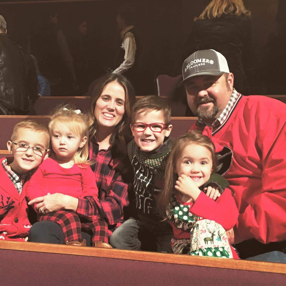Daryle Singletary wife and his children