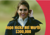 Hope Hicks Net Worth