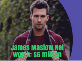 James Maslow Net Worth