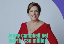Jenny Campbell Net Worth