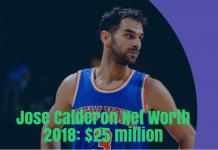 jose calderon net worth