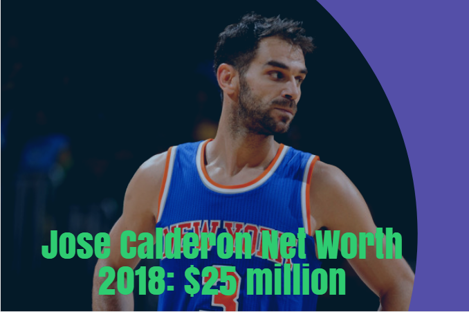 jose calderon net worth