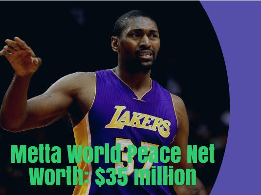 Metta World Peace Net Worth