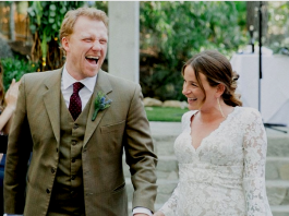 Kevin McKidd and Arielle Goldrath